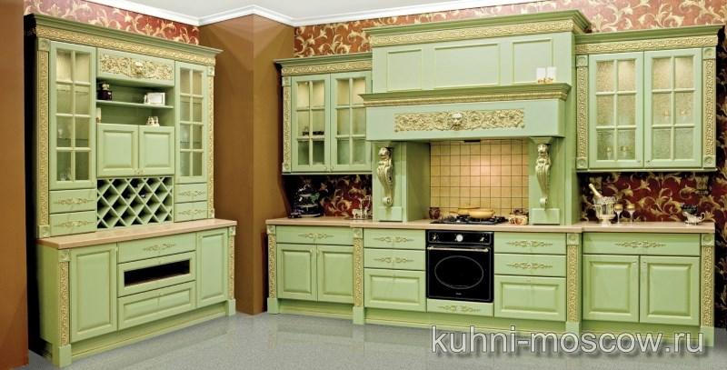 Кухня из массива Львиное Сердце