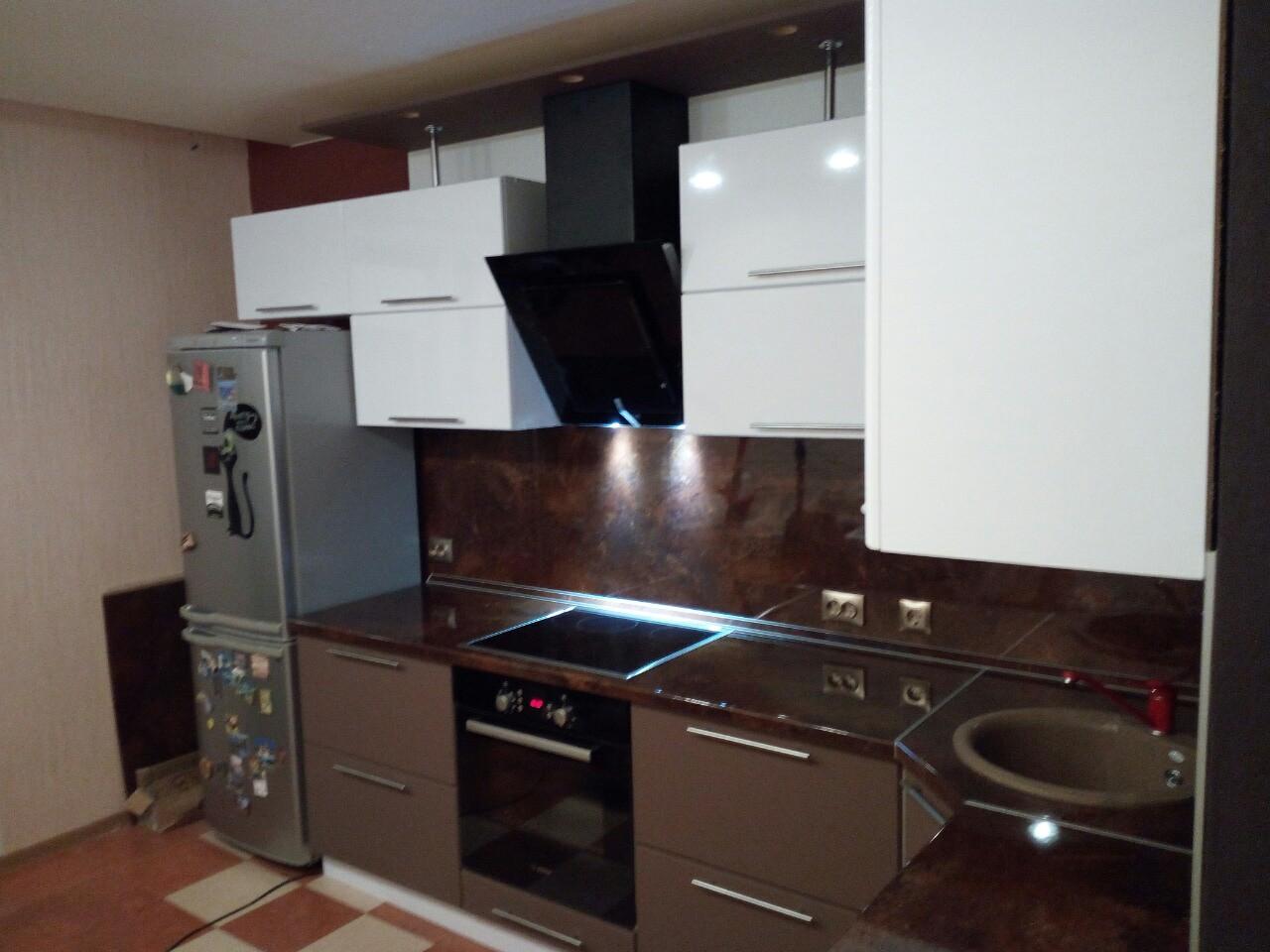 Угловая кухня с фасадами МДФ «001» фото 2