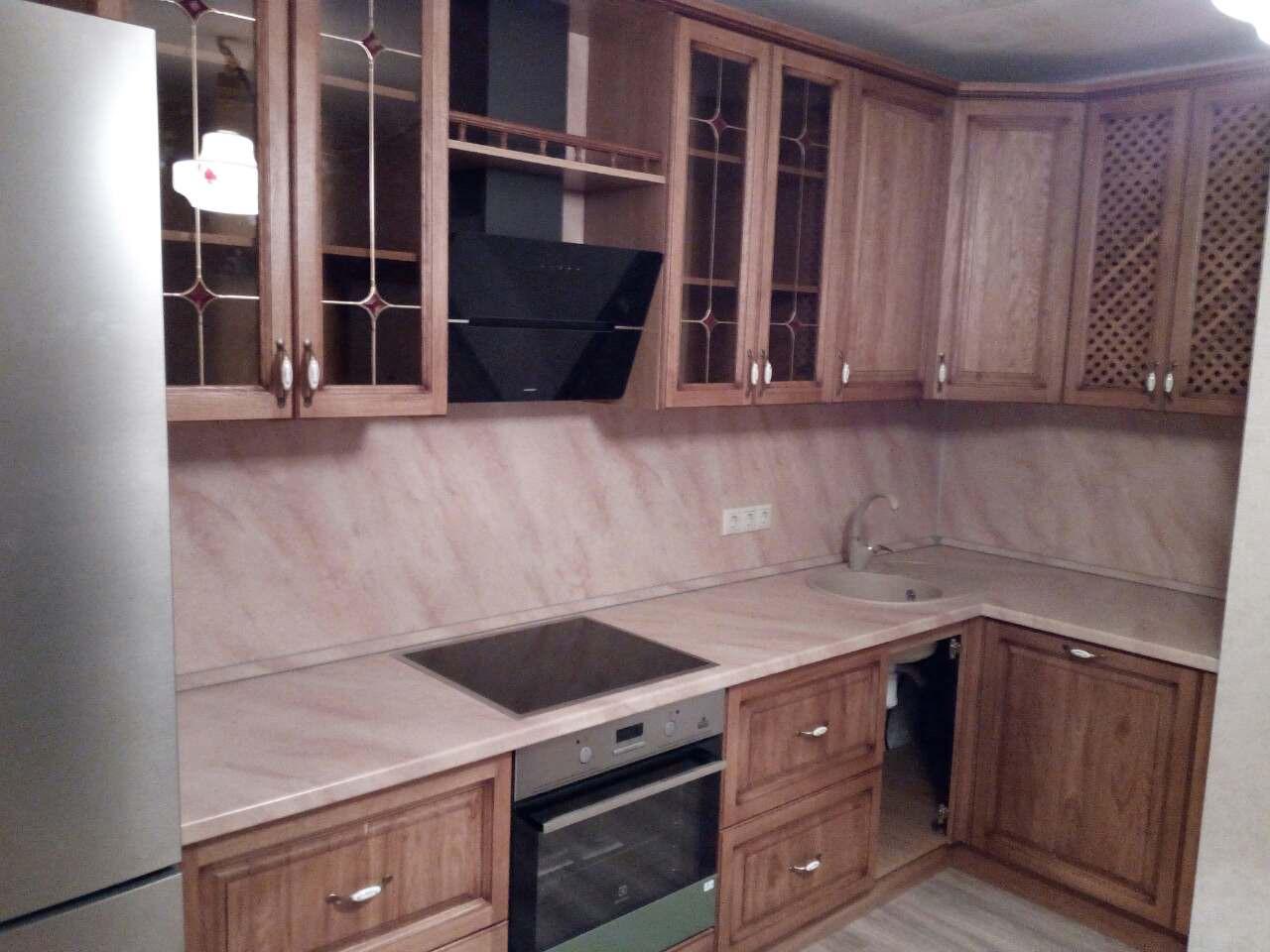 Кухня из массива Витраж, фото 1