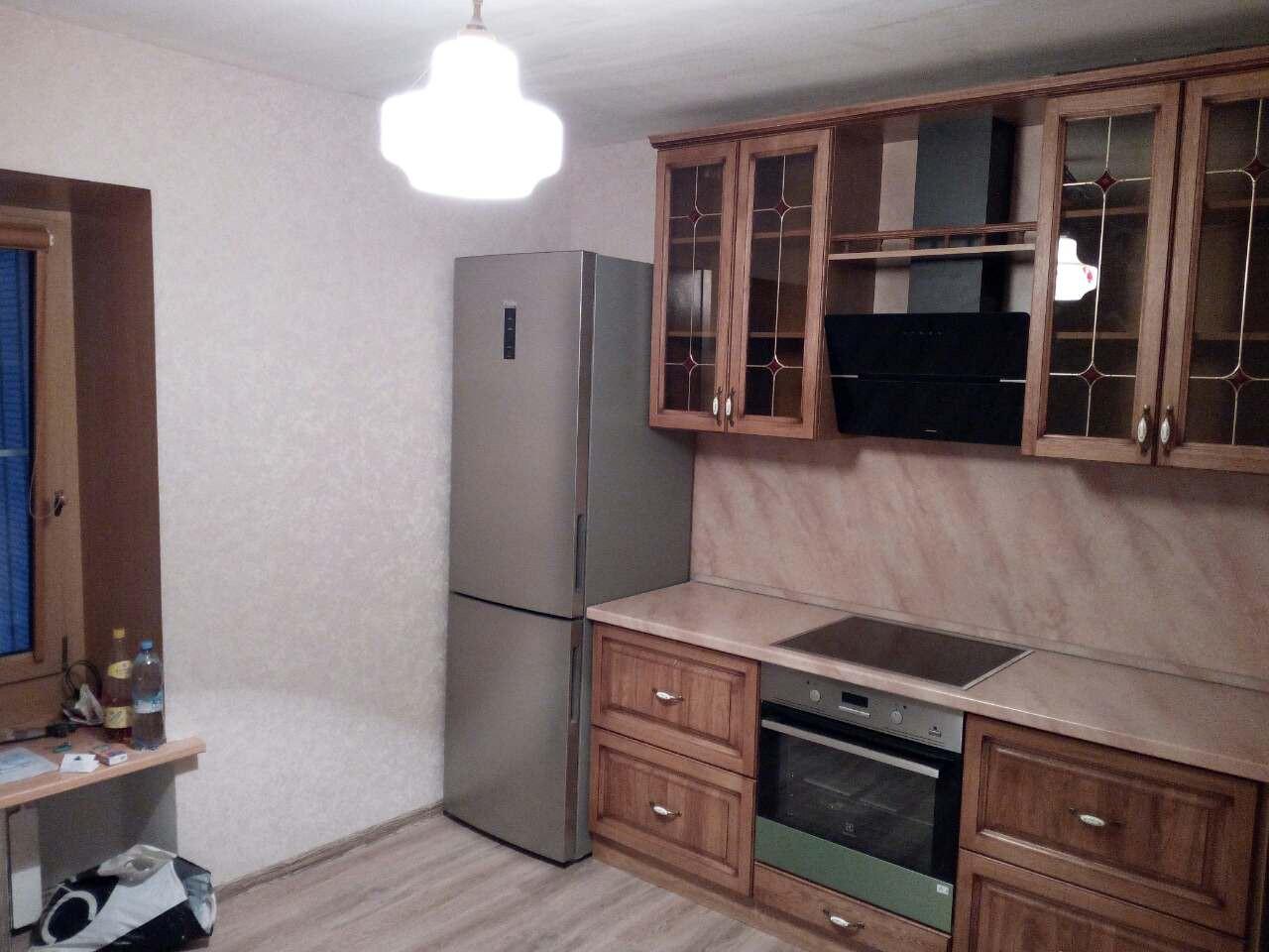 Кухня из массива Витраж, фото 3