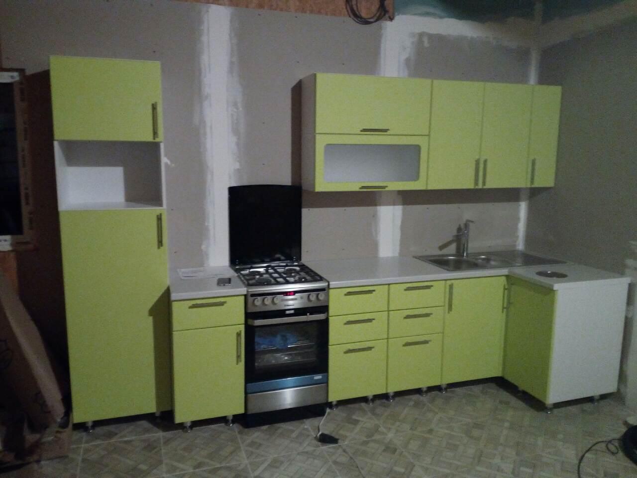 Кухня из МДФ в пленке ПВХ