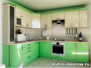 Зеленая кухня Оливия
