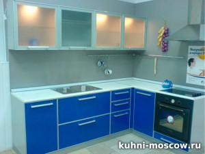 Синяя кухня Паула