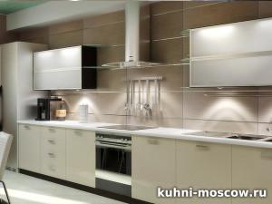 Светлая кухня Вета