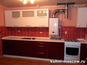 Кухня темный низ светлый верх Бланка