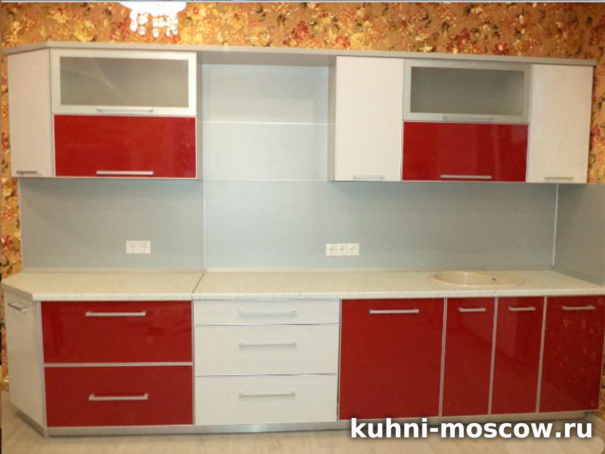 Кухня в алюминиевой рамке Манана