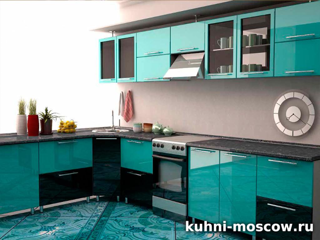 Бирюзовая кухня Дидилия
