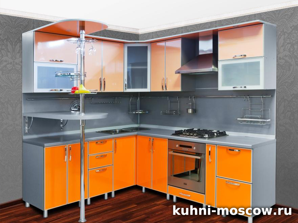 Оранжевая кухня Милица