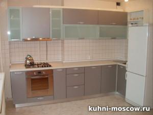 Серый кухонный гарнитур Антонина