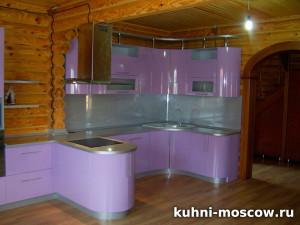 Сиреневая кухня Диляра