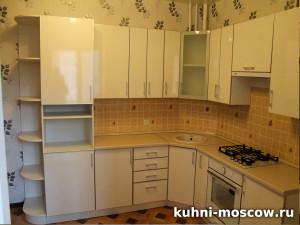 Белый кухонный гарнитур Диля