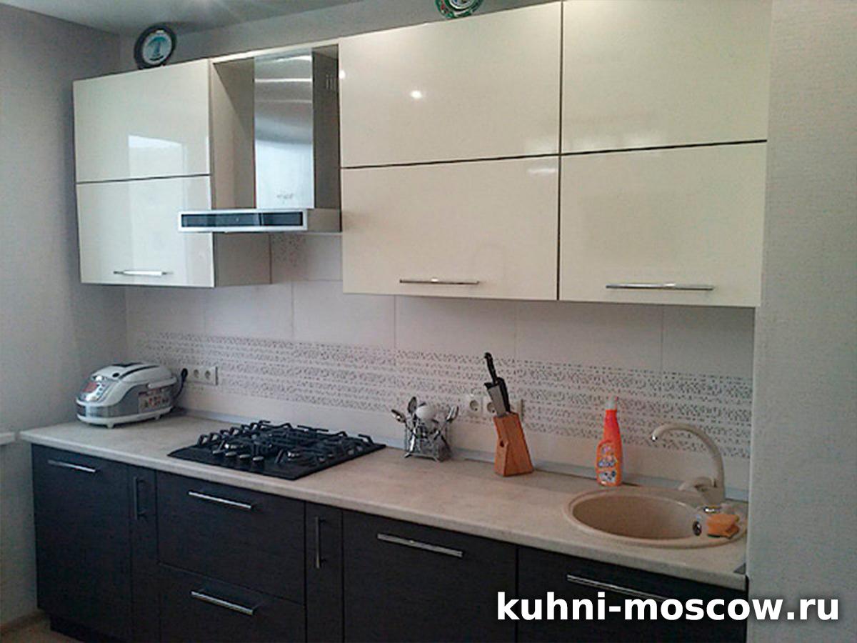 Прямой кухонный гарнитур Анэля