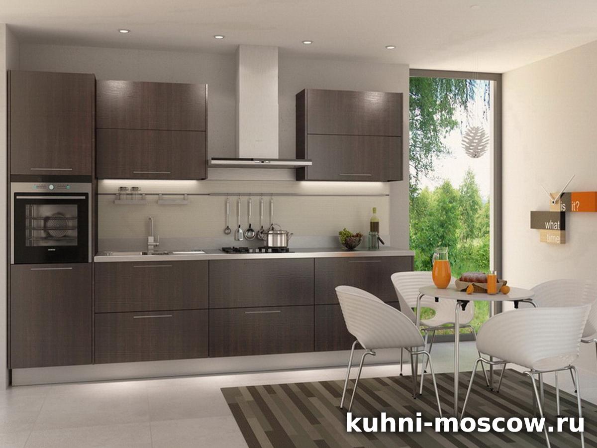 Прямой кухонный гарнитур Хильдегарда