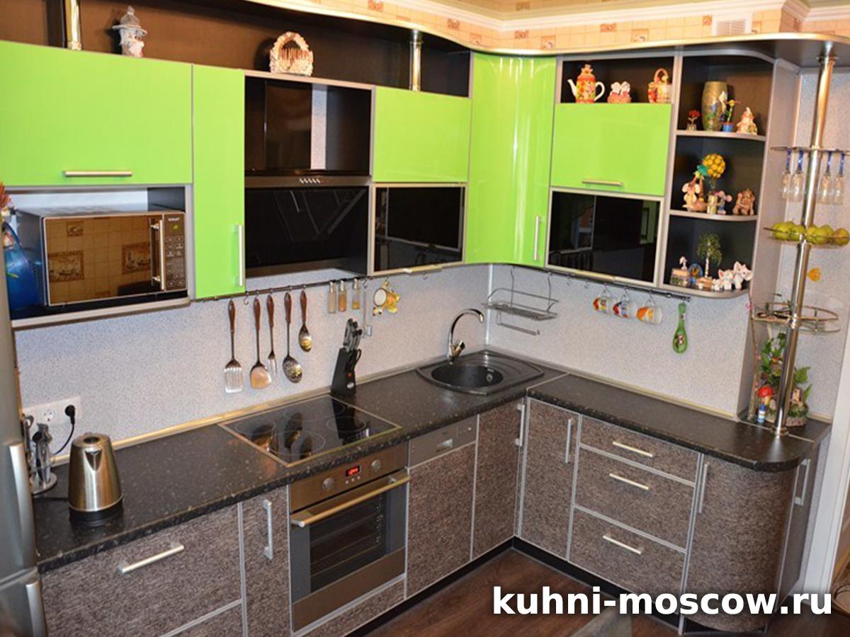 Яркая кухня Марина