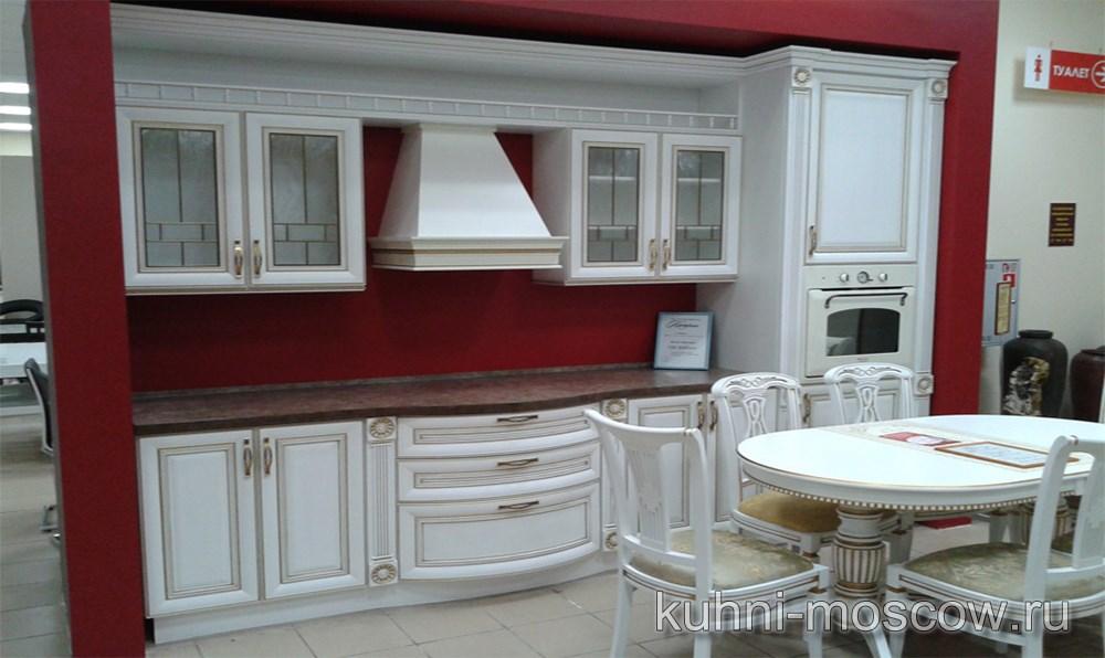 Прямой кухонный гарнитур на заказ